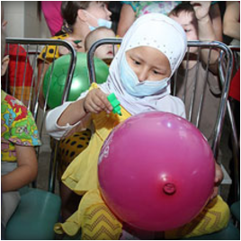 Волонтеры-христиане Перми посетили онкологическую больницу