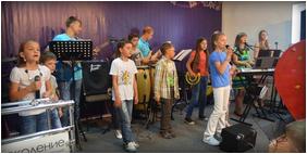 На Камчатке дети провели служение