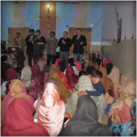 Верующие Пакистана благодарят евангельских христиан России