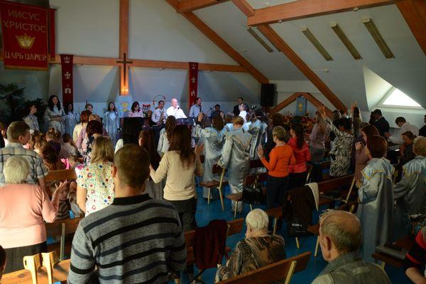 Пензенская церковь «Живая вера» поблагодарила Бога за урожай