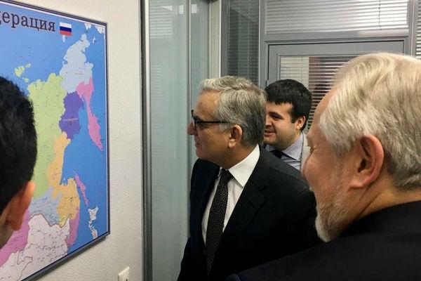 Епископ Сергей Ряховский встретился с послом Бразилии